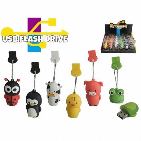 Pen USB Animais da Fazenda 8gb