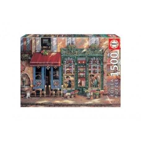 Educa Puzzle Palais Fleurs 1500 Peças 18004
