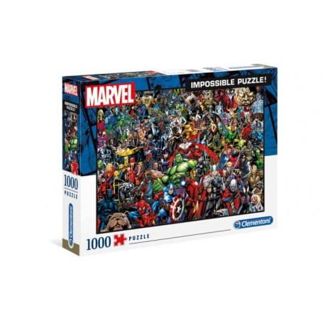 Clementoni Puzzle Impossível 1000 Peças Marvel 39411