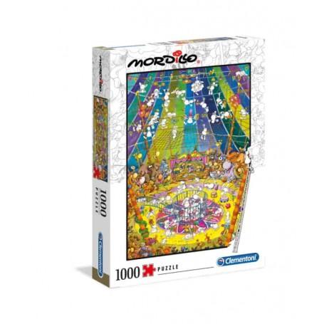 Clementoni Puzzle 1000 Peças Mordillo The Show 39536