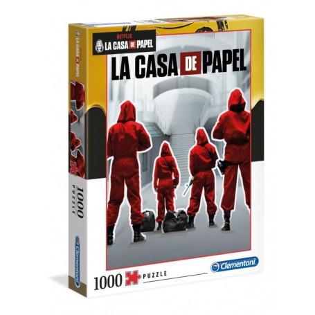 Clementoni Puzzle 1000 Peças Casa Papel 39532