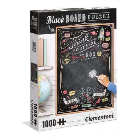 Clementoni Puzzle Lousa 1000 Peças Think Outside Box 39468