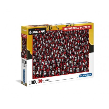 Clementoni Puzzle Impossível 1000 Peças Casa Papel 39527