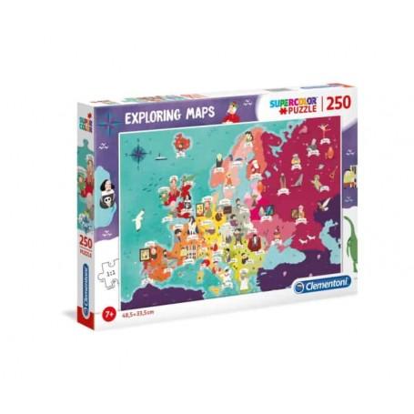 Clementoni Puzzle 250 Peças Great People Europe 29061