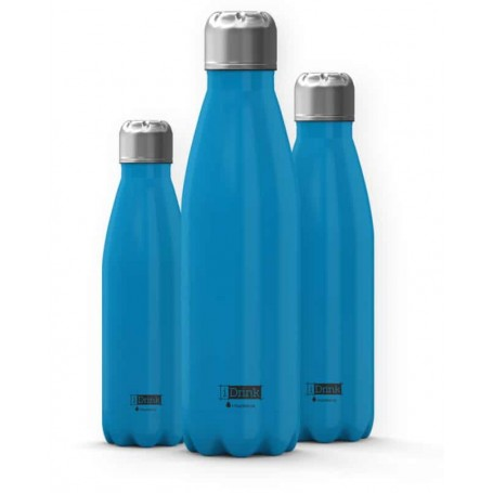 i-Total Garrafa Térmica iDrink 350ml Azul