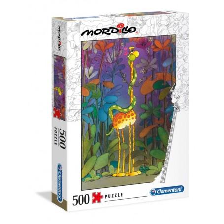 Clementoni Puzzle 500 Peças Mordillo Lover 35079
