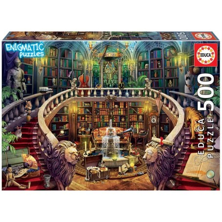 Educa - Puzzle 500 Peças: Biblioteca