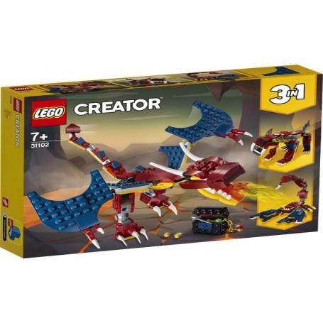 Lego Creator - 31102 - Dragão de Fogo