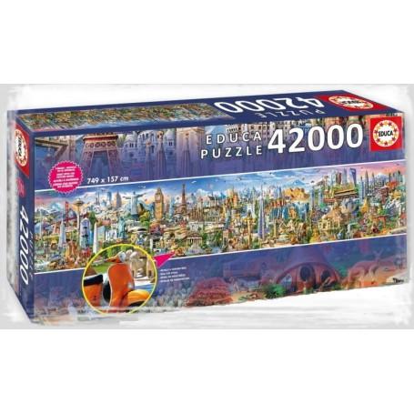 Educa - Puzzle 42000: A Volta ao Mundo