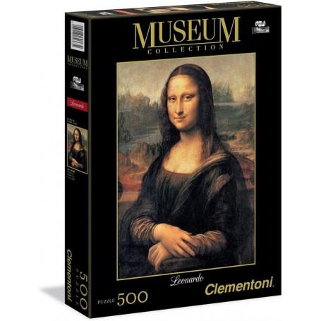 Clementoni - Puzzle 500 Peças Monnalisa - Museum Collection