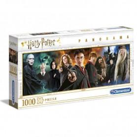 Clementoni - Puzzle 1000 Harry Potter Panorama
