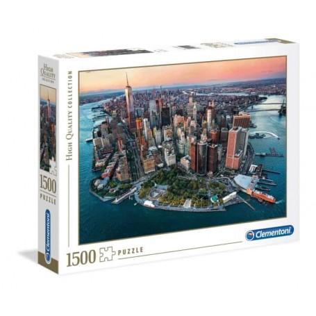 Clementoni - Puzzle 1500 Peças HQC Nova York - 2019