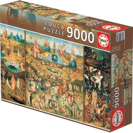 Educa - Puzzle Jardim das Delicias - 9000 Peças