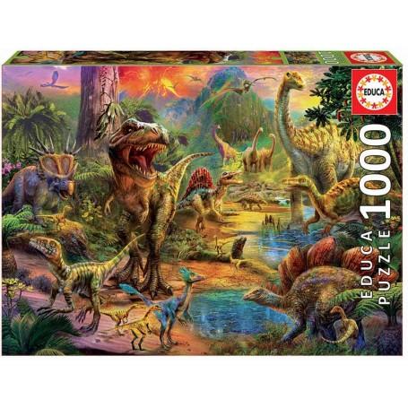 Educa - Terra de Dinossauros - 1000 Peças