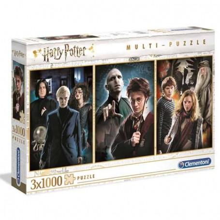 Clementoni - Puzzle Harry Potter 3 x 1000 Peças