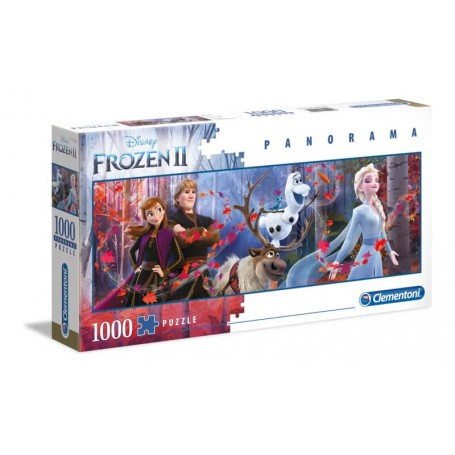 Clementoni - Puzzle 1000 Peças Panorama Frozen 2 - 2020