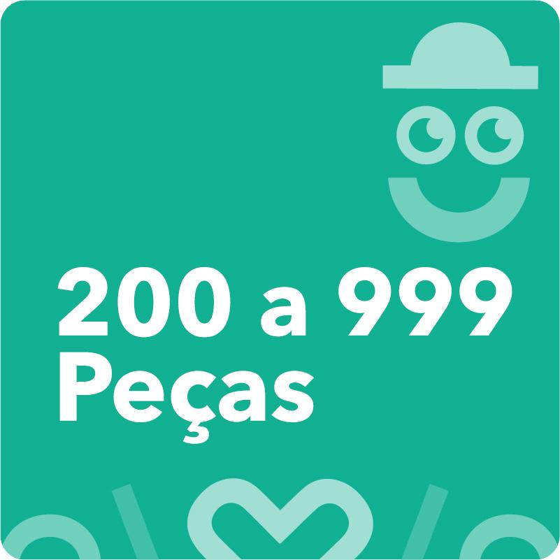 200 a 999 Peças