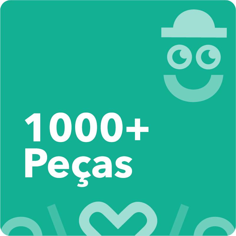 1000 Peças