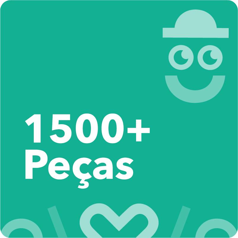 1500 Peças