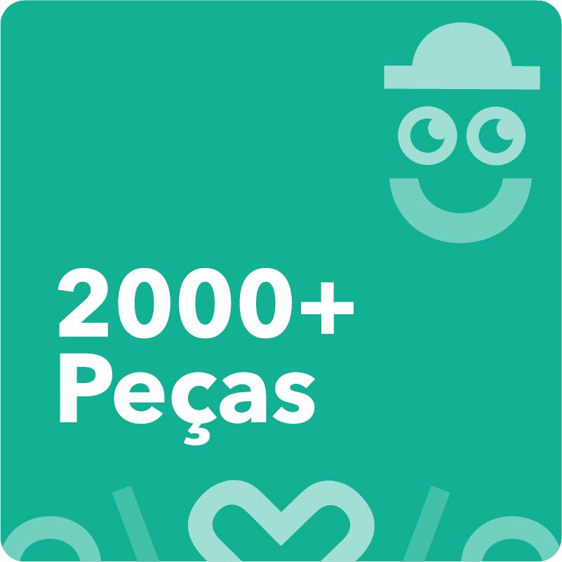2000 Peças