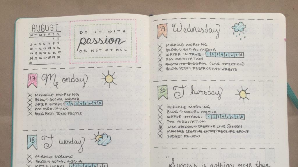 Exemplo de Journal Simples