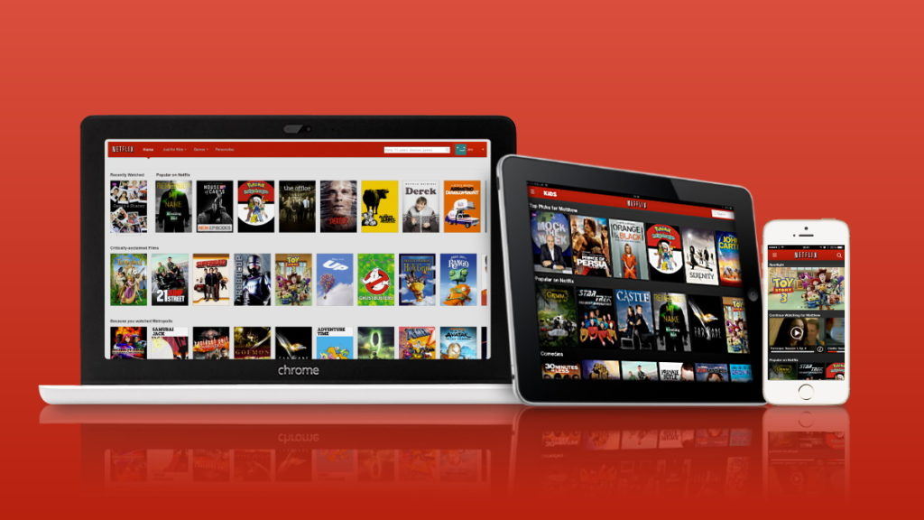 Netflix Streaming Computador Smartphone